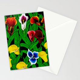 Large Calla Lillies Stationery Cards