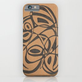 Modern Introspective iPhone Case