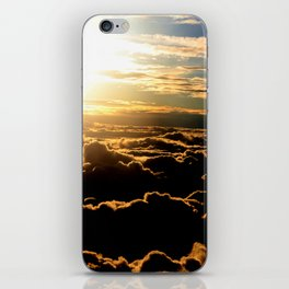 Sunset over the Atlantic Ocean iPhone Skin