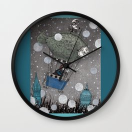 One Thousand and One Star Wall Clock