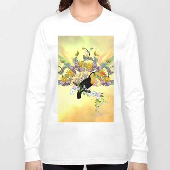 Funny toucan Long Sleeve T-shirt