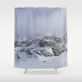 Mountains in June Shower Curtain