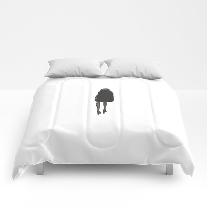 Winter Silhouette  Comforters