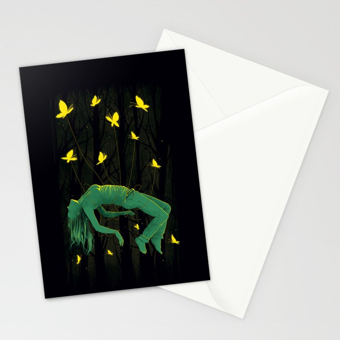 In Deep Sleep Stationery Cards