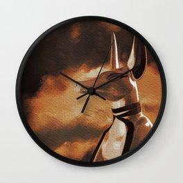 Anubis God of Egypt Wall Clock