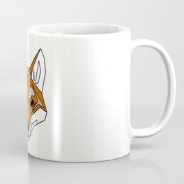 Geometric Fox - Abstract, Animal Design Coffee Mug