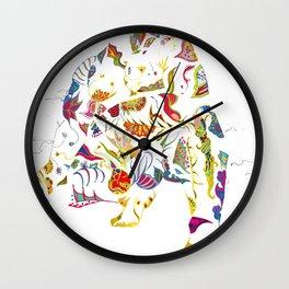 tatoo bear Wall Clock