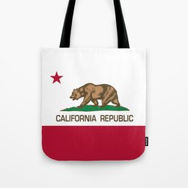 California Republic Flag, High Quality Image Tote Bag