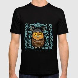 Brave Viking Owl T-shirt