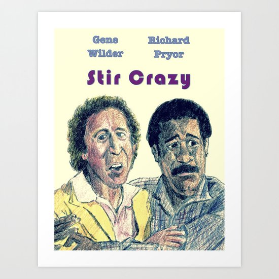 Stir Crazy Art Print