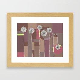 Lazy Bloomer Framed Art Print