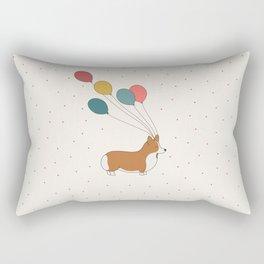 HAPPY NEW YEAR CORGI Rectangular Pillow