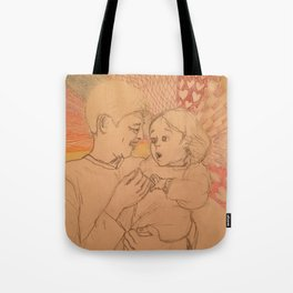 Kid's Surprise (Beige Collection) Tote Bag
