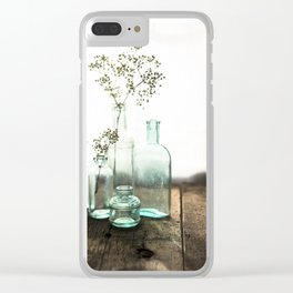 Memories in Bottles Clear iPhone Case
