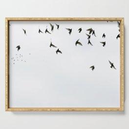 Birds Serving Tray