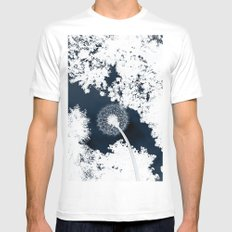 Diente de León Mens Fitted Tee White MEDIUM