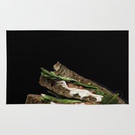 Sandwich say cheese Rug