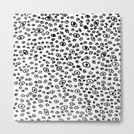 I see you (white) Metal Print