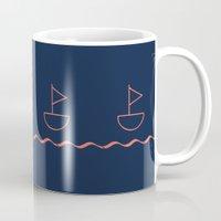 sail Mugs featuring sail by gzm_guvenc