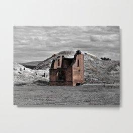 Berry No. 1 Mine Pump House Metal Print