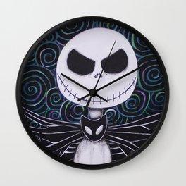 Jack Skellington Wall Clock