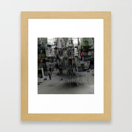 Proceeds delivered unobtrusively through hideouts. [B] Framed Art Print