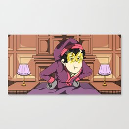 Warden of SuperJail Canvas Print