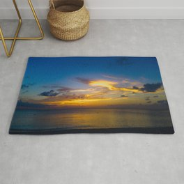 Cloudfish Over Open Water Rug