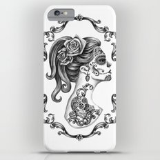 Sugar Skull Girl Cameo iPhone 6 Plus Slim Case
