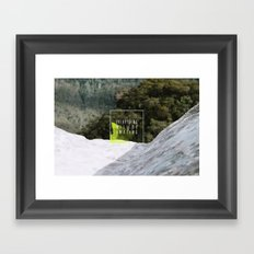 Everything Will Be Amazing Framed Art Print