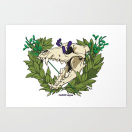 Death & Victory Art Print
