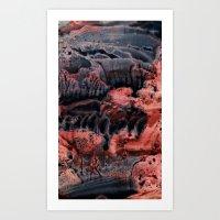 Mist Art Print