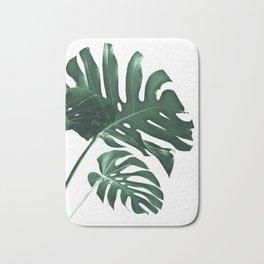 Tropical Monstera Finesse #1 #minimal #decor #art #society6 Bath Mat