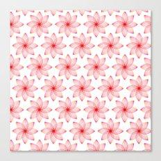 Gradient Strings Blossoms Canvas Print