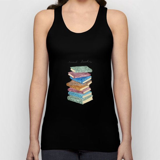 Love for reading Unisex Tank Top