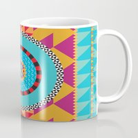 art deco Mugs featuring Deco Art by MadTee