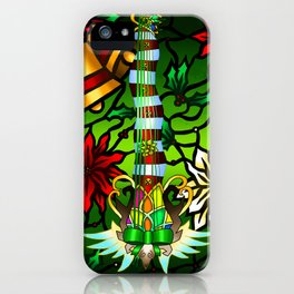 Fusion Keyblade Guitar #175 - Decisive Pumpkin & Nightmare's End Reality Shift iPhone Case