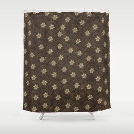 Edelweiss 	-  alpinestar, stella alpina, Shower Curtain