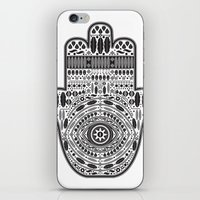hamsa iPhone & iPod Skins featuring Hamsa by Paint it graphics