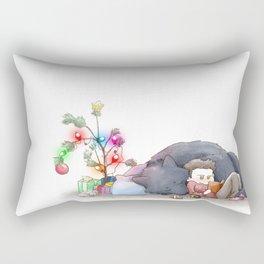 Wolfsmas Rectangular Pillow