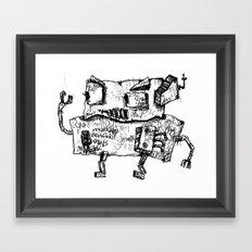 AERNI-BOT  Framed Art Print