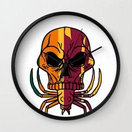 Sri Lanka Skull  Spider Country Asia  Island Gift  Wall Clock
