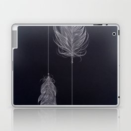 ..and then whats left is your arrow. Laptop & iPad Skin