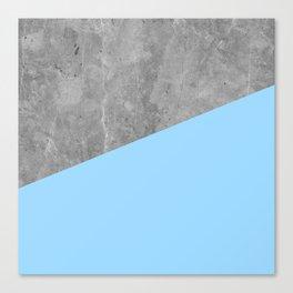 Geometry 101 Blue Raspberry Canvas Print