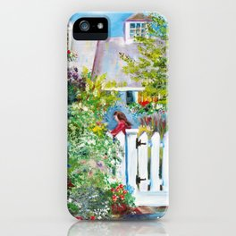 Summer in Kennebunkport iPhone Case