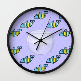 Freedom Fish Wall Clock