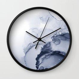 BLUE INK 88 Wall Clock
