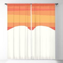ORIGINAL DRAWING - interior, drawing, decor, design, bauhaus, abstract, decoration, mid century Blackout Curtain