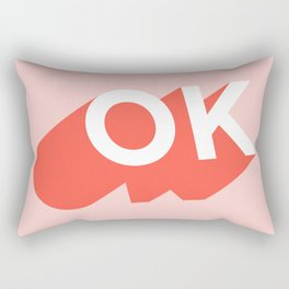 OK Rectangular Pillow