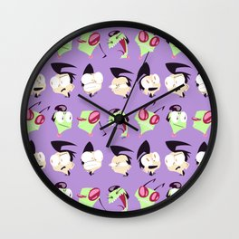 Zim n' Dib Wall Clock